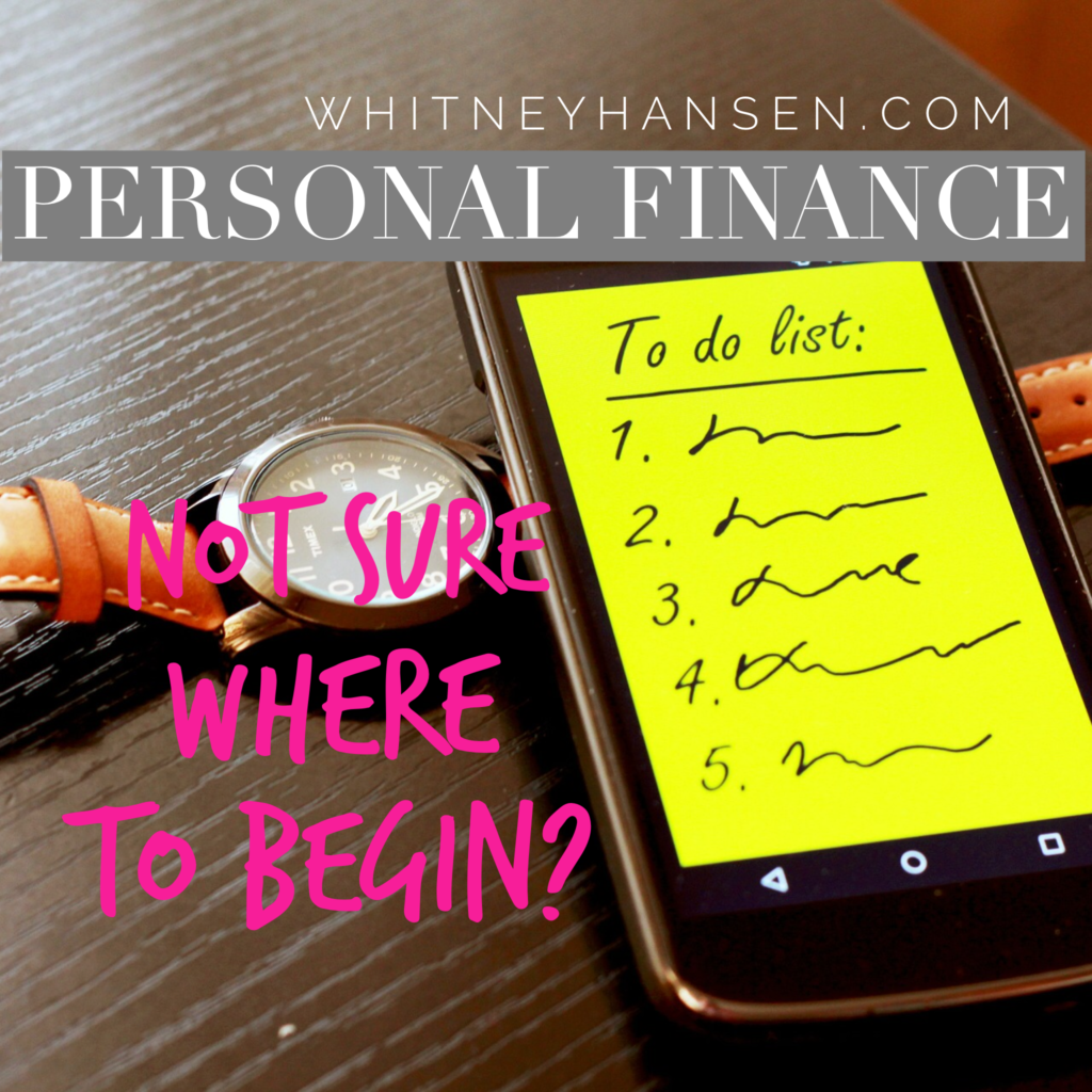Where to begin? 5 tips to help you jumpstart your financial journey