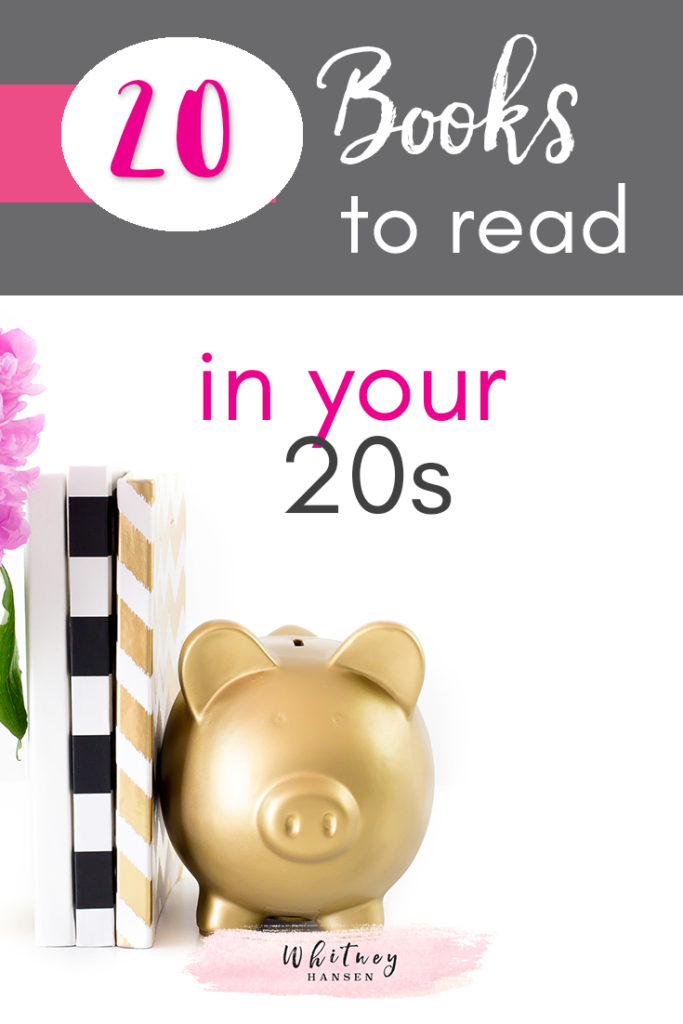 20 Books To Read In Your 20s