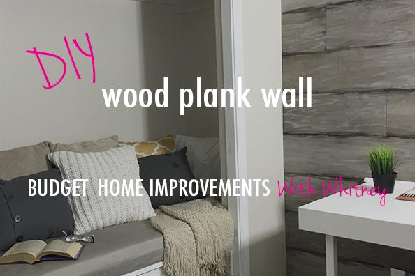 diy wood plank