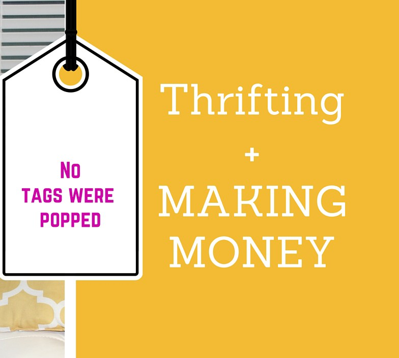 Tips for thrifting + making cheddar (…money)