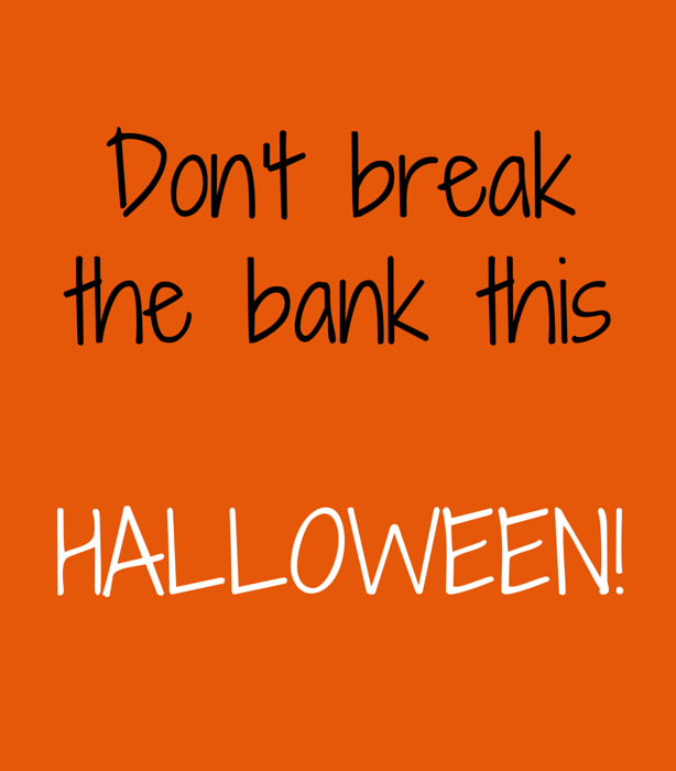 A not so scary Halloween: 3 tips to save money