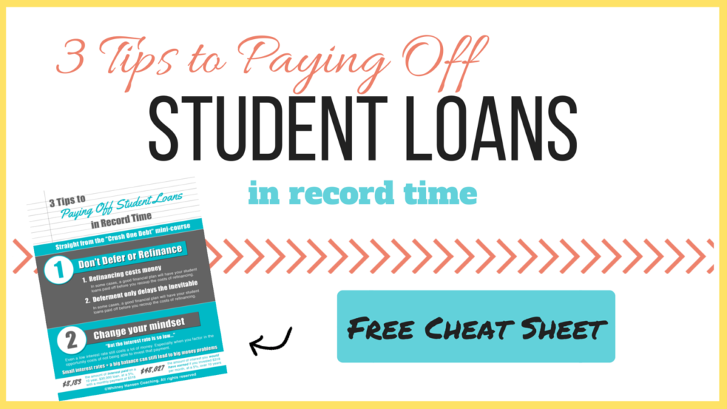 Student Loan Lead Magnet