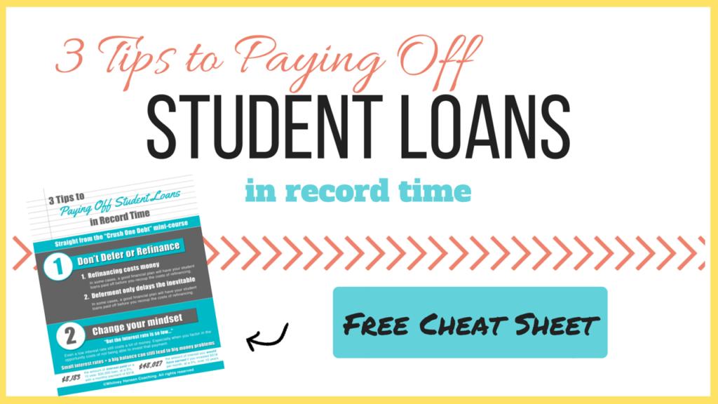 Student Loan Lead Magnet