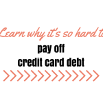 Why it's ridiculously hard to pay off credit card debt
