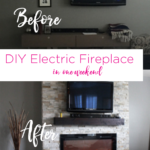 DIY: How-to Build A Fireplace (in one weekend)