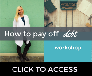 How to pay off debt workshop