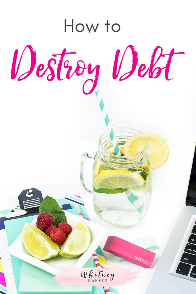 #Realtalk: How To Destroy Debt