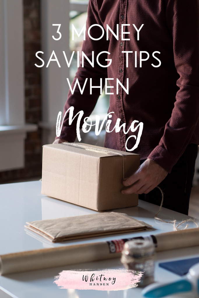 3 Money Saving Tips For Moving