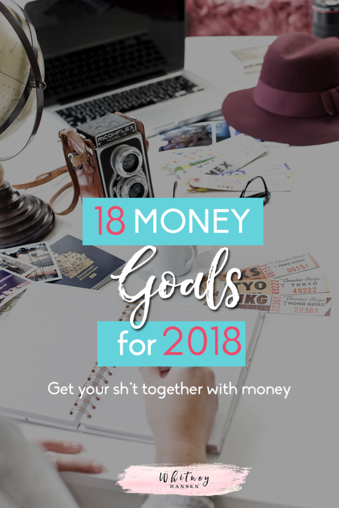 Bloggers share their top money goals for the new year!