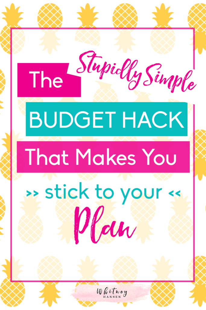 How to stick to your budget!