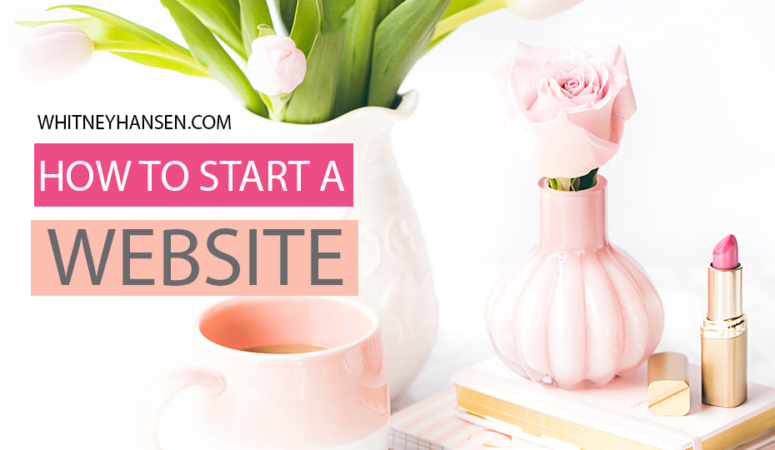 How to start a blog (for non-techy people)