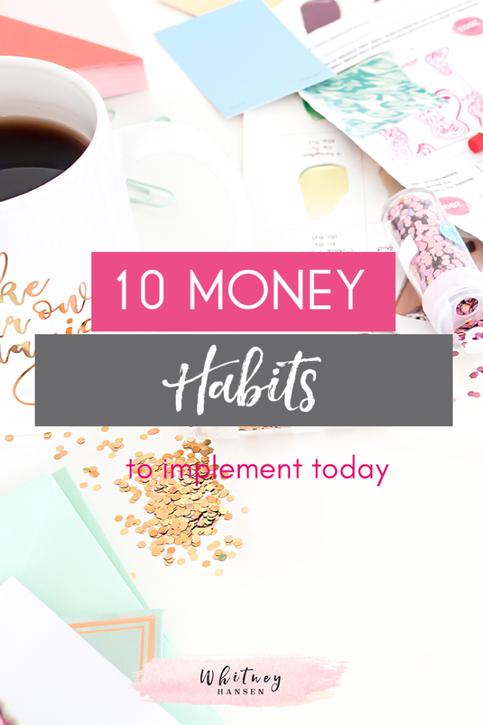 10 Money Habits Featured Image