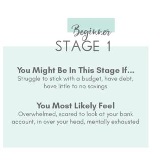 Stage 1 Financial Roadmap