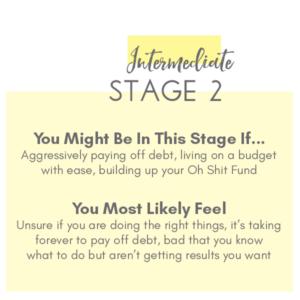 Stage 2 Financial Roadmap