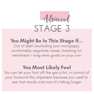 Stage 3 Financial Roadmap