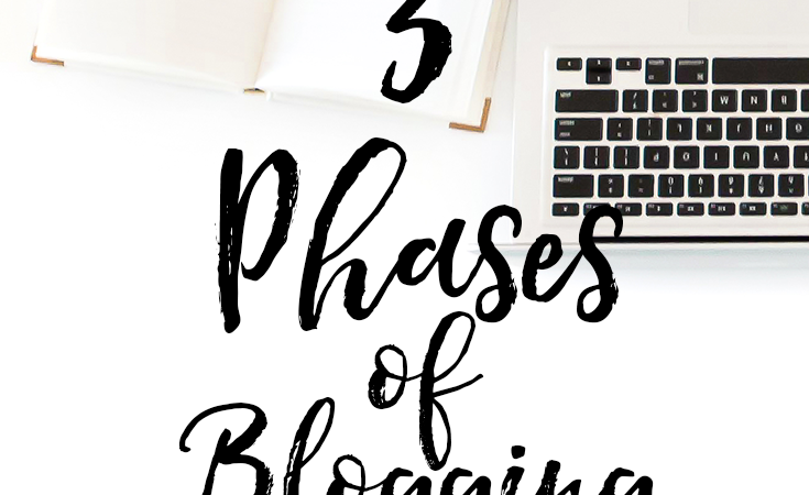Blog With A Full-Time Job: 3 Phases of Blogging