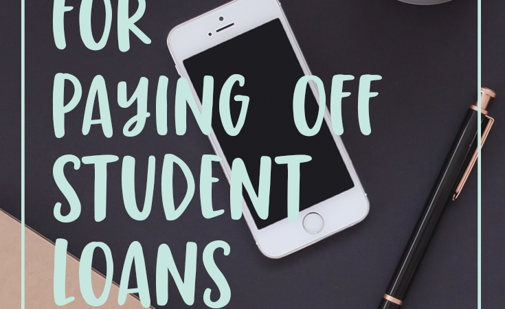 10 ways to pay off student loans fast