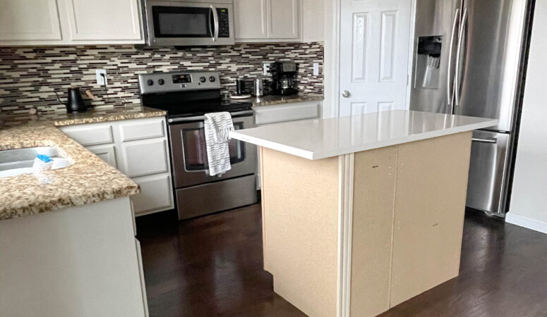 How to paint your kitchen cabinets without sanding