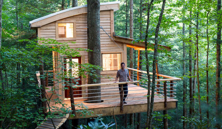 What it Takes to Build Treehouses | INTERVIEW  with Django Kroner from The Canopy Crew